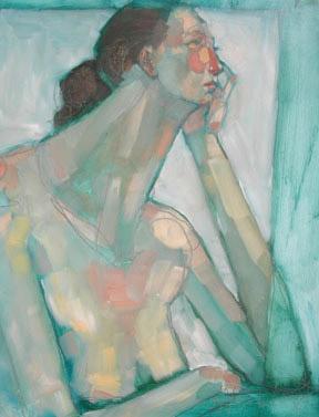 Olivia Pendergast (self-portrait)