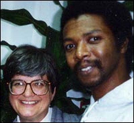 Sister Helen Prejean and Dobie Gillis Williams at Louisiana State Penitentiary, ca. 1991