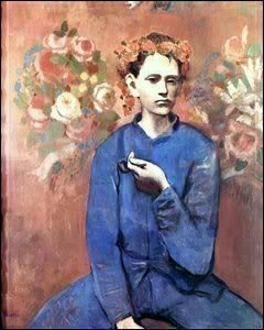 A masterpiece by Pablo Picasso, painted in 1905 when he was just 24 years old, became the most expensive piece of art ever sold when it went under the hammer at Sotheby's in New York for $104m. The painting, Garcon a la Pipe (Boy with a Pipe)