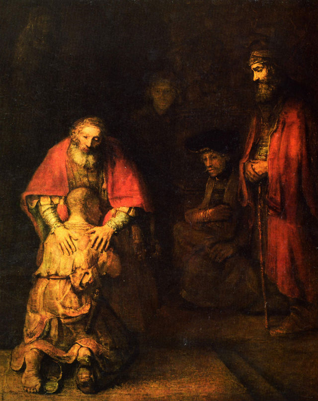 Rembrandt's The Return of the Prodigal Son