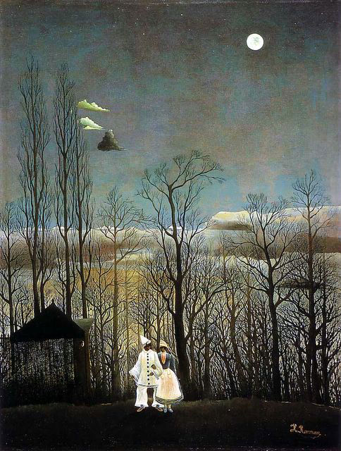 Carnival Evening, Jean-Jacques Rousseau  (1886) - Museum of Art Philadelphia