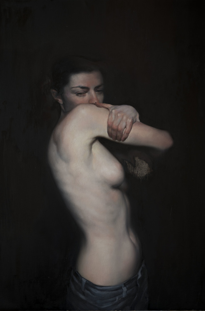 Obscure Object | 32 x 40 inches | oil on canvas | 2015 | Maria Kreyn