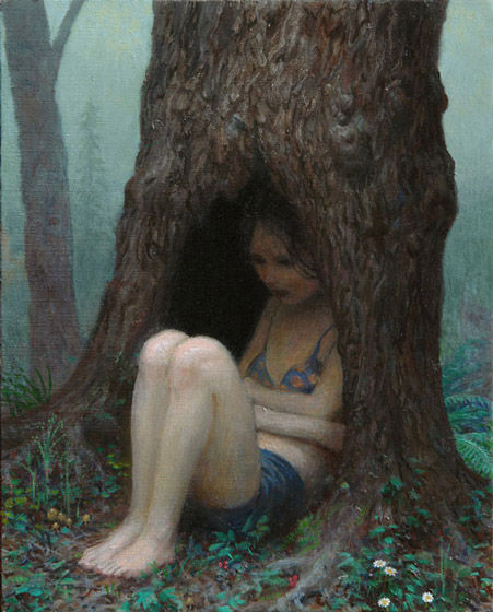 Early | oil on canvas | 12 x 10 inches | 2008 | Aron Wiesenfeld