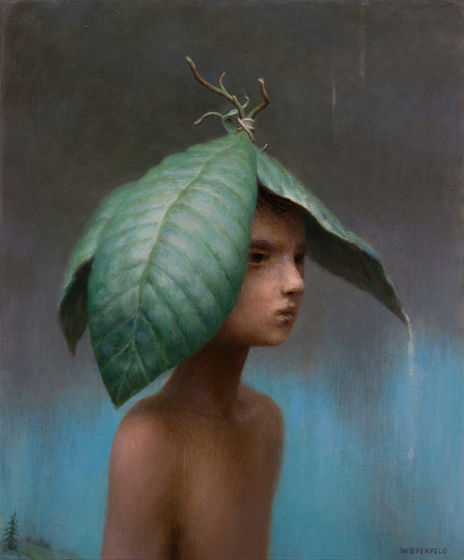March | oil on canvas | 21 x 17 inches | 2011 | Aron Wiesenfeld