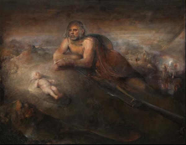 Chosen | Odd Nerdrum | Oil on Canvas