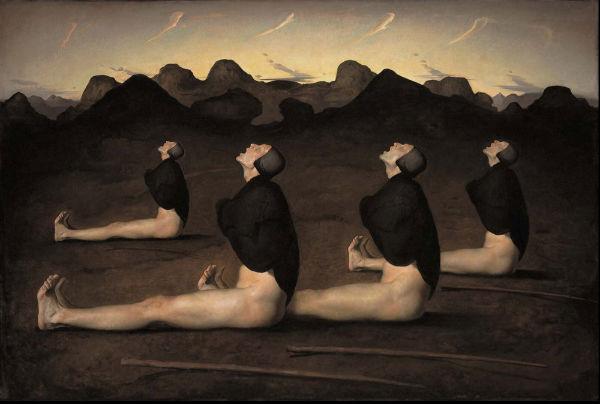 Dawn | Odd Nerdrum | oil on canvas