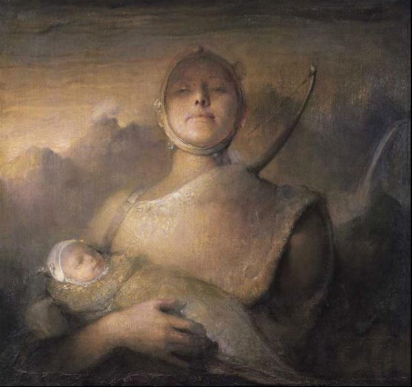 Volunteer | oil on canvas | Odd Nerdrum