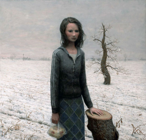 Ruth | oil on canvas | 23 x 24 inches | 2008 |Aron Wiesenfeld