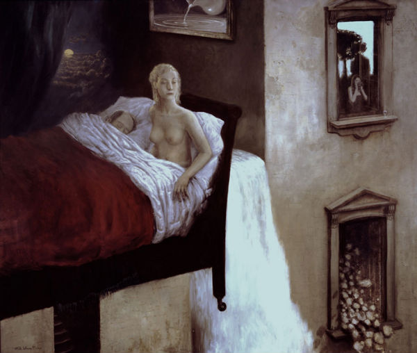 Museum of Broken Dreams | oil on canvas | 155x182cm | 2003 | Mike Worrall
