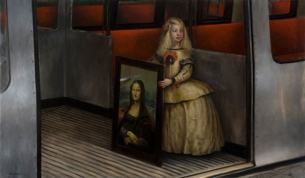 The Sweet Assassin | oil on canvas | 117x183cm | 2011 | Mike Worrall