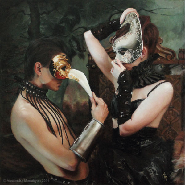"First Date, from series ""Masquerade"" 