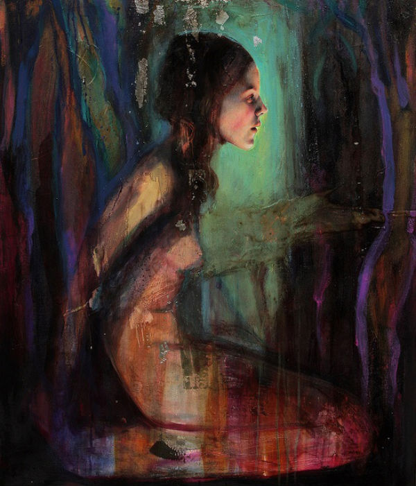 600 Sol Halabi is an Argentian artist who paints in mixed media including tar and beeswax .jpg