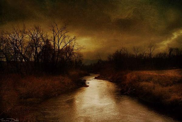 Thomas Dodd  Vermont Landscape in November 600