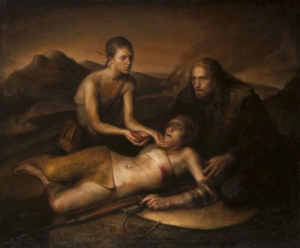 Wounded Sniper | 50x6 | Luke Hillestad