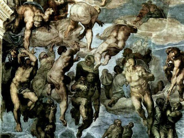 Last Judgement (detail) | Michelangelo | 1541