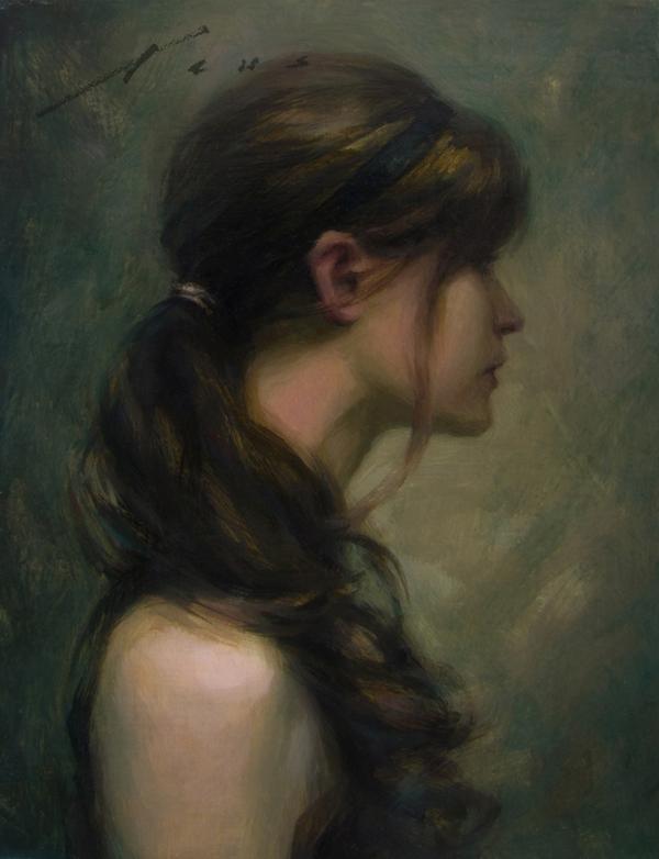 Curls | 10x8 | Vincent Xeus