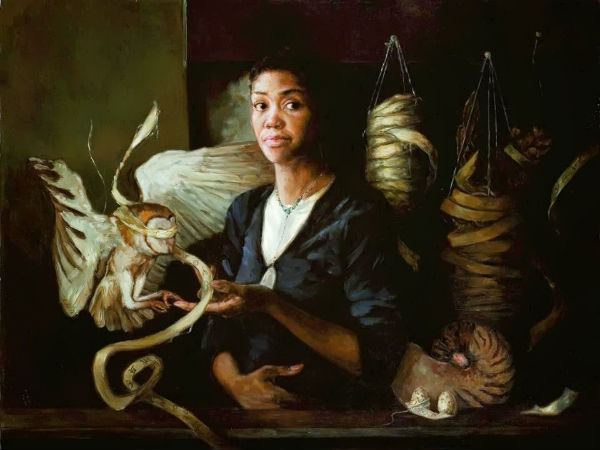 <br />The Point Between<br > | 2006 | 48 x 36 | oil on linen | Gail Potocki