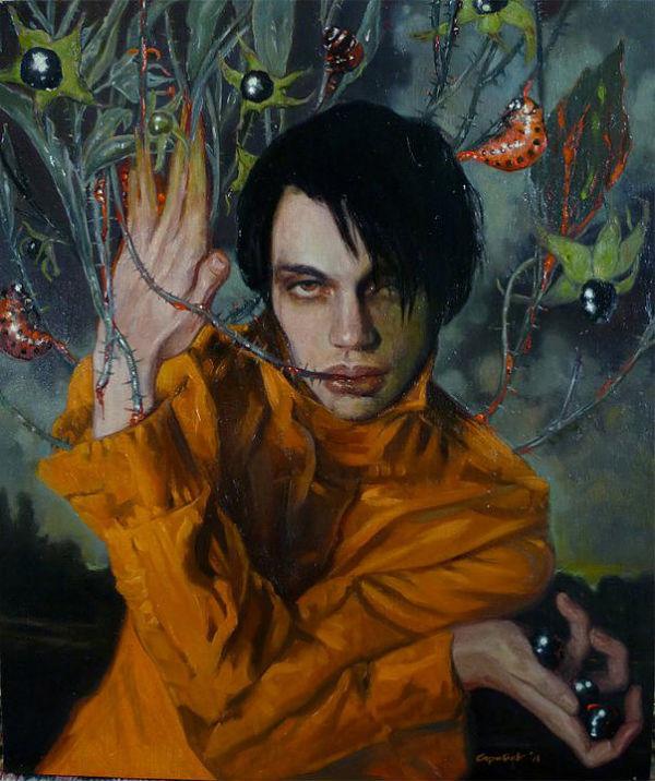 Atropa Belladonna | Oil on linen | Gail Potocki