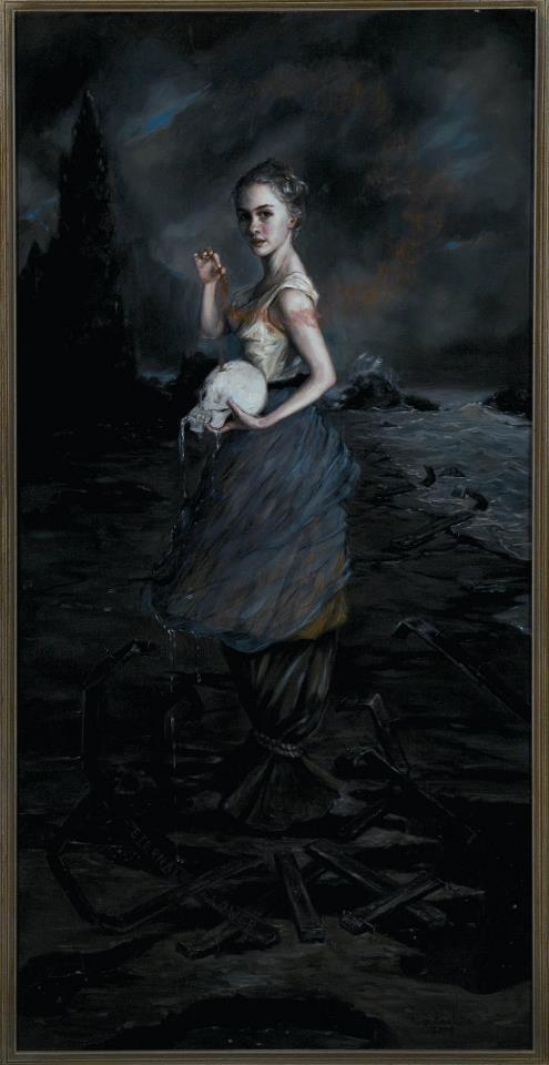 Eternal Flower | 2004 | oil on linen | Gail Potocki