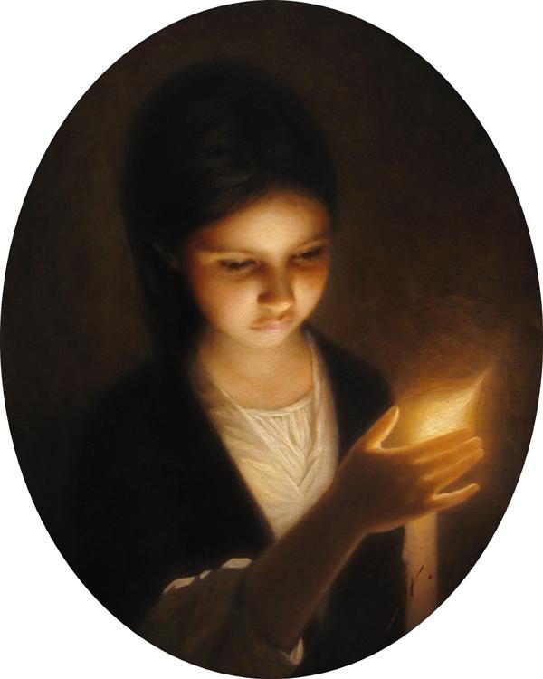 Julia, 17.5x14, Vincent Xeus