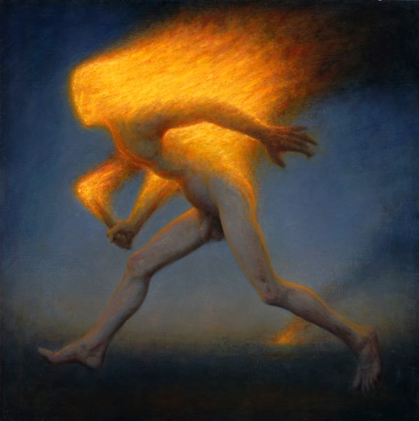 Fire Spirit oil on linen, 36 x 36 inches, 2012 collection of the artist