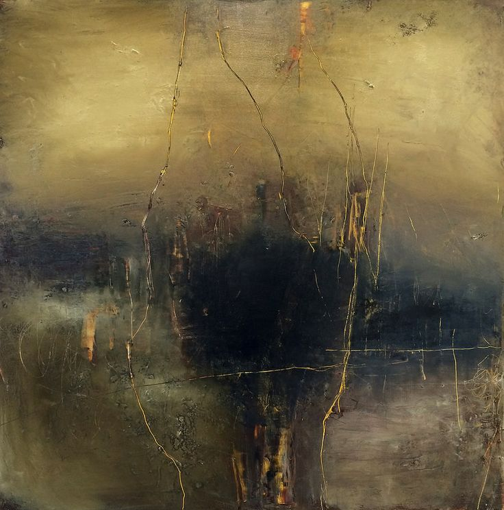 Secret Passages And Dark Chocolate   mixed media on panel   36x36