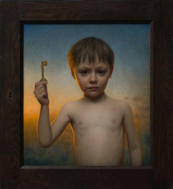 The Key | Oil on linen | 20x18 | 2012