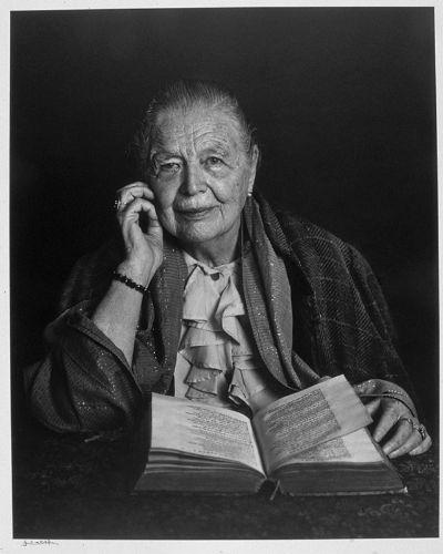 Belgian-born French novelist and essayist, Marguerite Yurcenar