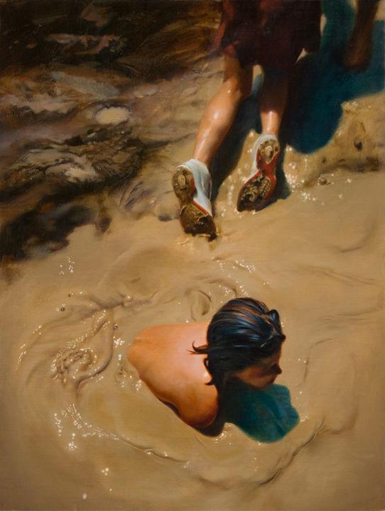 Gully Wash | 24x18 | Teresa Elliott