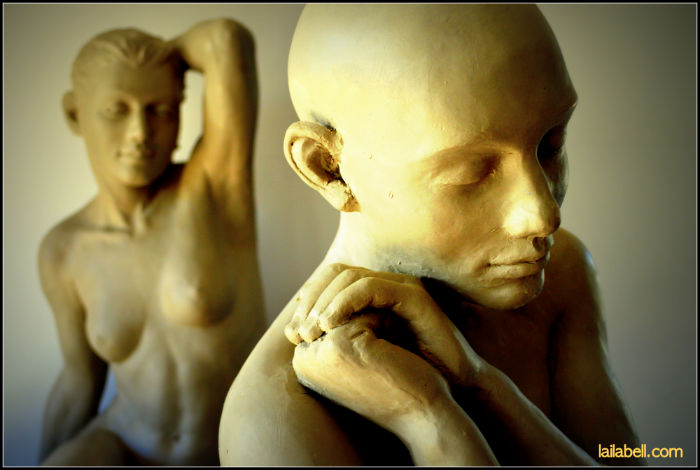 Laila two sculptures 700.jpg