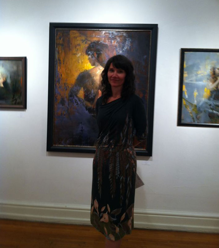 Stanka Kordic 700   at my solo show 'ambiguity & wisdom' — at The Carnegie