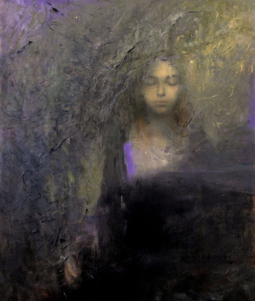 "Stargazer | oil on linen  | 36"" x 30"" 