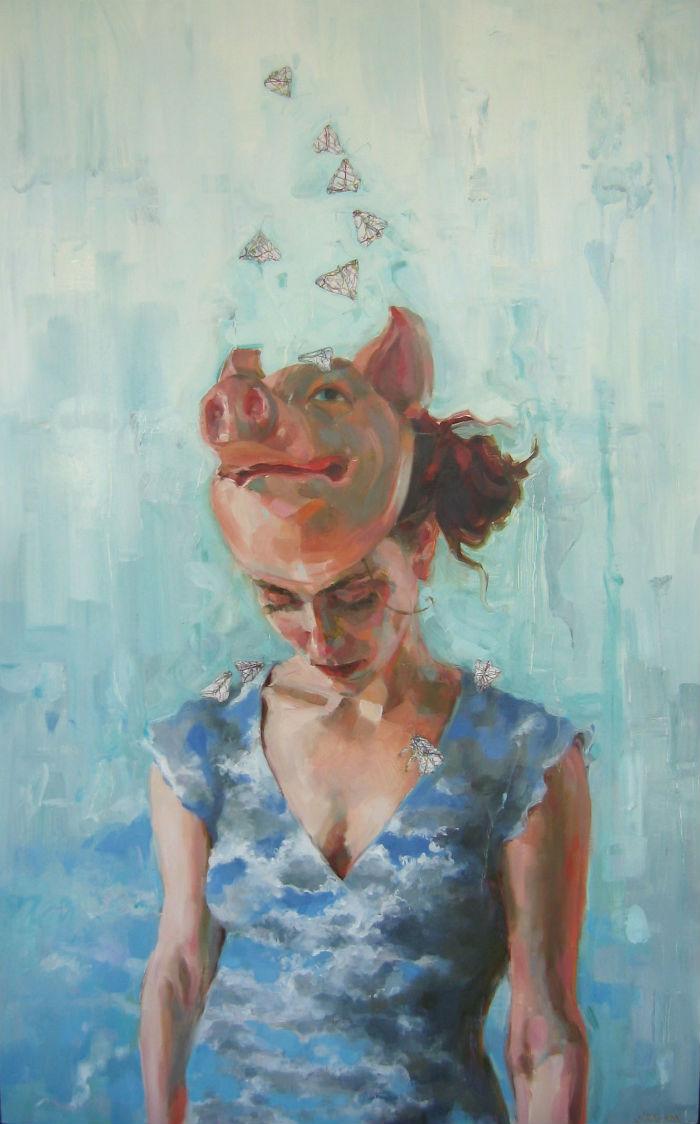 Moths Fly to Light 3 | Jennifer Balkan