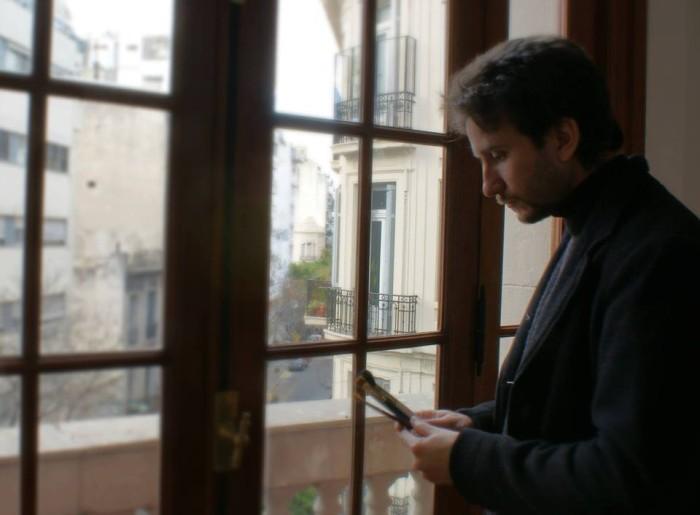 Argentine painter, Martin Llamedo
