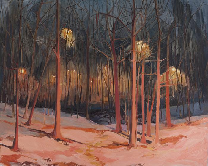 Beneath the Surface   oil-on-canvas   48 x 60   Christina Sealey