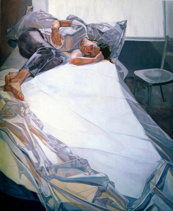 Anna   84 x 72   Oil on Linen   Christina Sealey