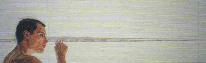 Richard, John St.   14 x 36   Oil on Linen   Christina Sealey