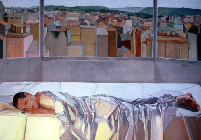 The City, Richard   36 x 60   Oil on Linen   Christina Sealey