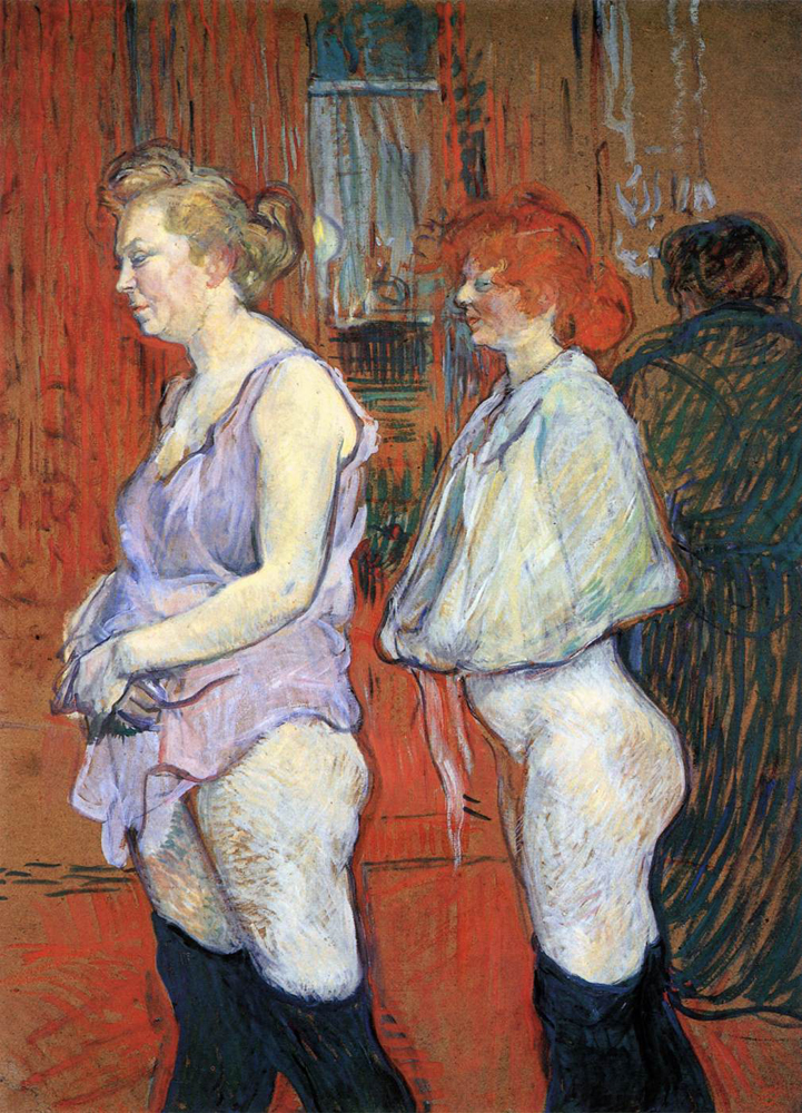 The Medical Inspection | Henri De Toulouse-Latrec