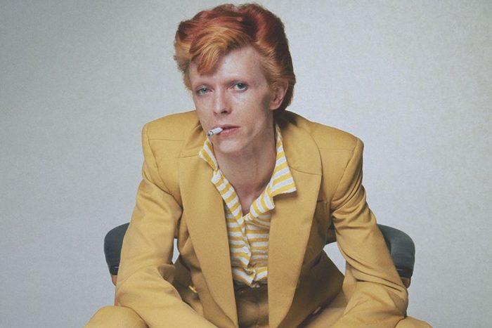 David Bowie 1974 portrait