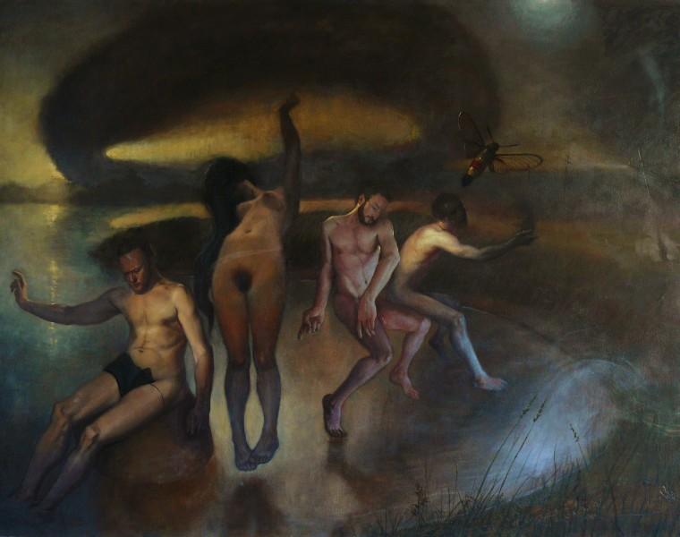 Hermetica | Hermetica (SOLD) | Oil Painting | 46 H x 59.8 W x 2 in | Richard T. Scott