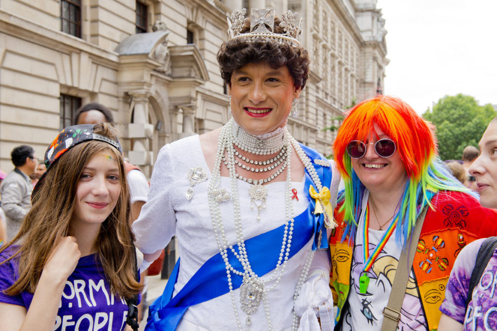 Gay Pride Parade in London (Photo credit: John Gomez)