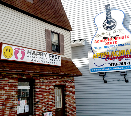 front of catonsville location