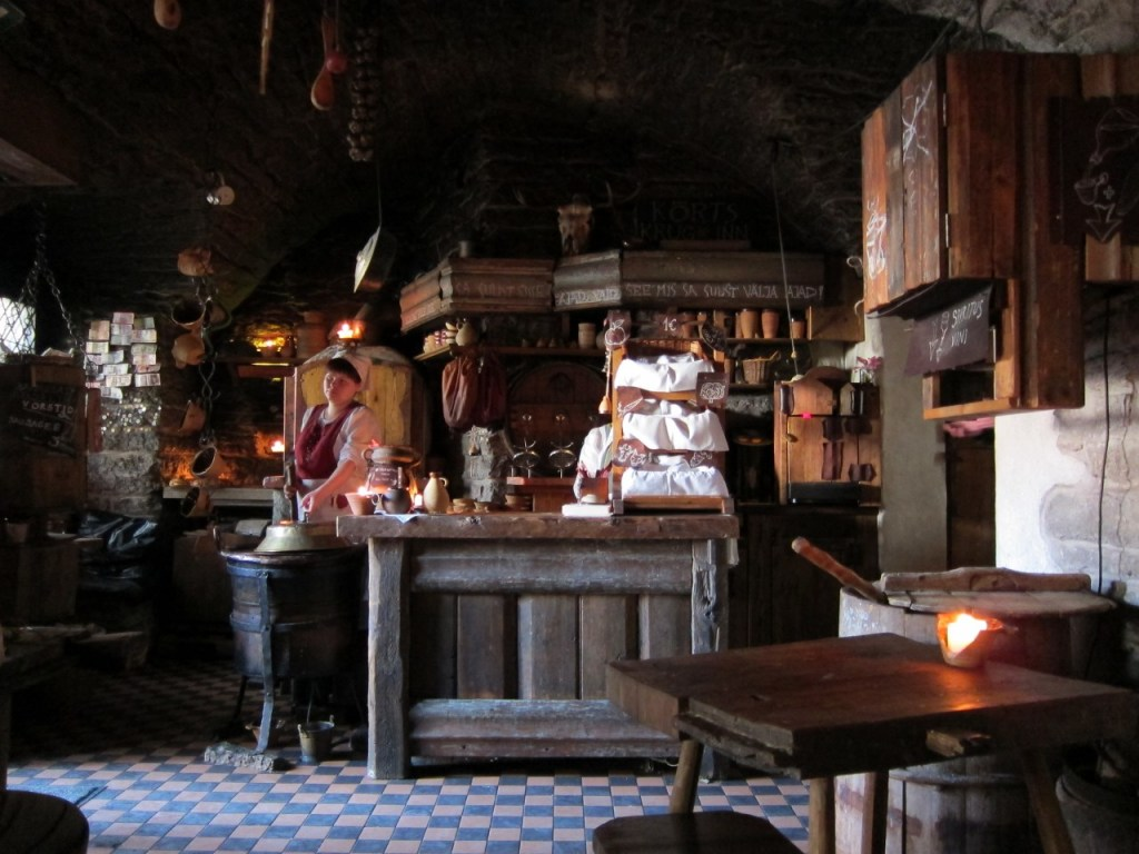 The ancient pub