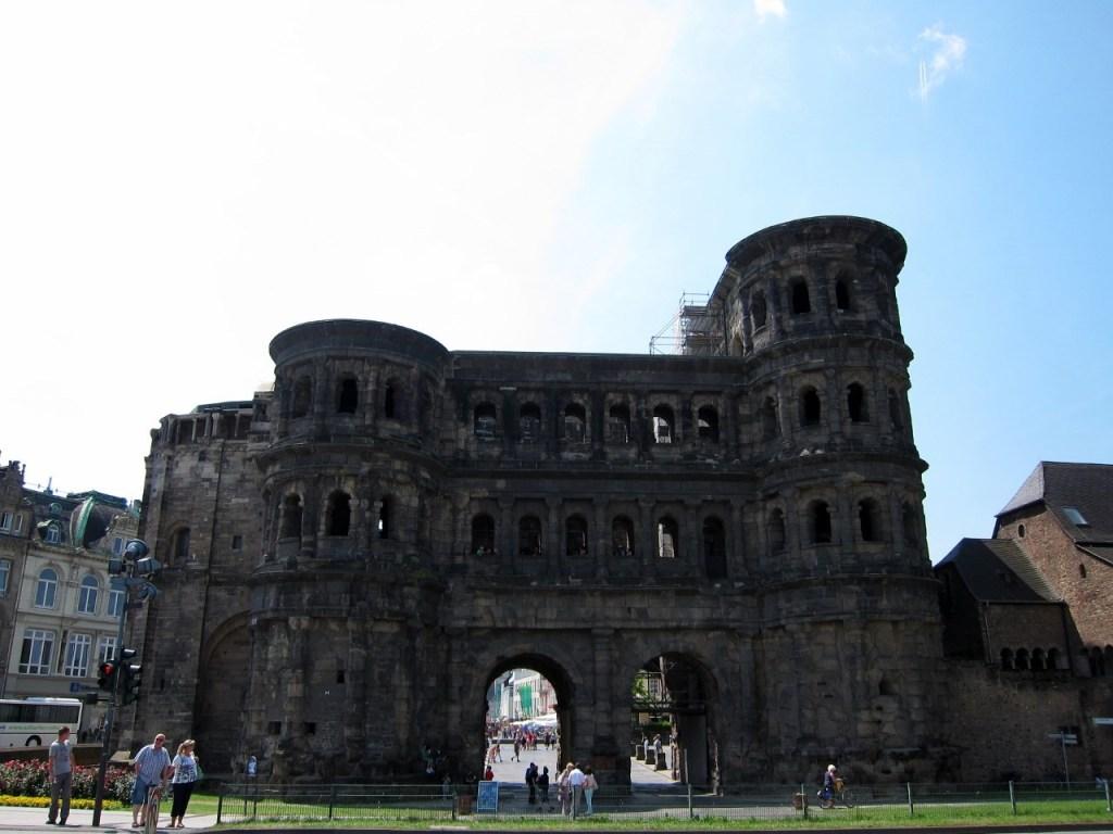 The Porta Nigra in Trier
