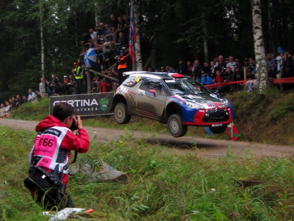 Robert Kubica WRC2 Rally Finland
