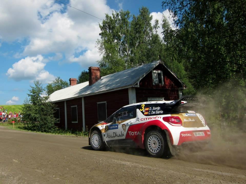 Dani Sordo Citroen C3 Leustu Rally Finland