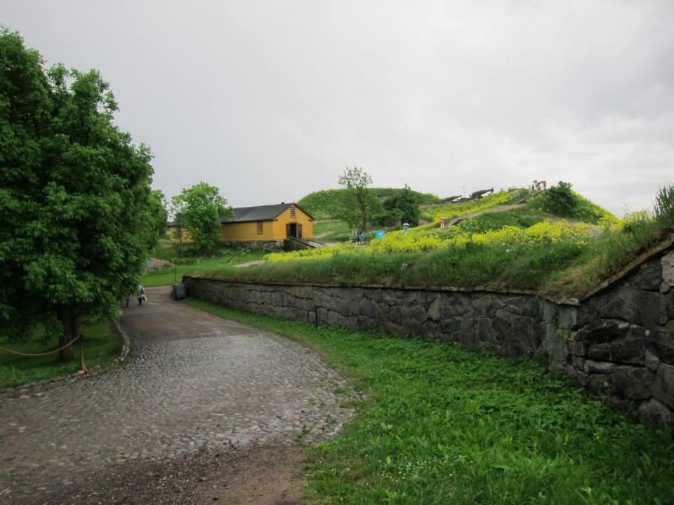 Suomenlinna fortress walls