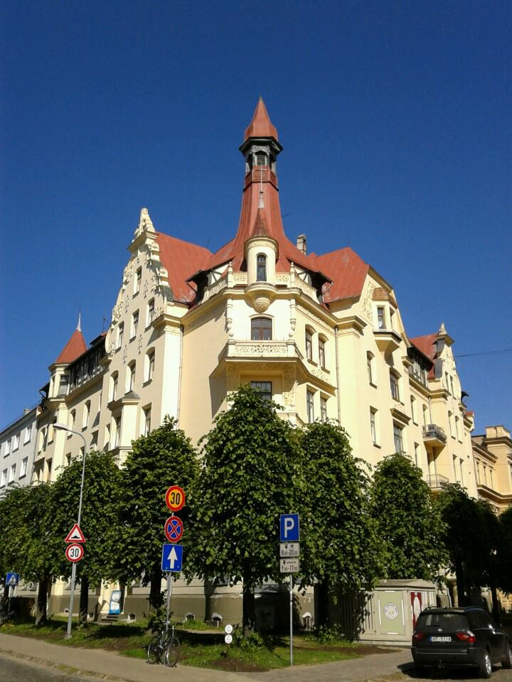 Rīga art nouveau