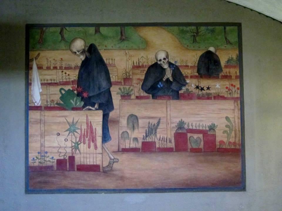 Hugo Simberg's Garden of Death (Kuoleman puutarha)